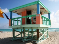 14th St Lifeguard Tower
