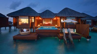 Glass Bottom Ocean Bungalow